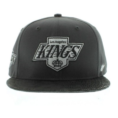 47´NHL snapback Los Angeles Kings uni
