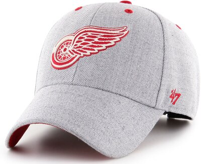 Šiltovka MVP Storm Cloud Charcoal Detroit Red Wings