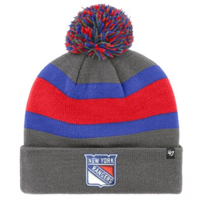Zimná čiapka Breakaway Cuff Knit NHL New York Rangers
