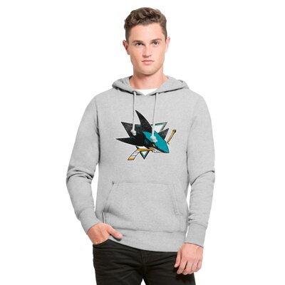 Mikina Headline ´47 San Jose Sharks grey