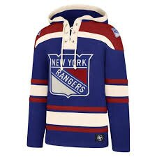 Mikina 47´brand Lacer New York Rangers
